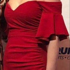 Beautiful Badgley Mischka gown!